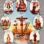 A syncretized depiction of the Seven African Powers as if they were seven of the chief Orishas of the Lucumi faith