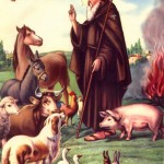 Saint Anthony the Abbot - an image used to depict Legba in Houngan Matt's lineage